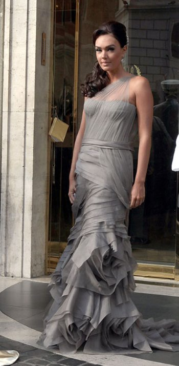 Tamara Ecclestone Celebrity Bridesmaid